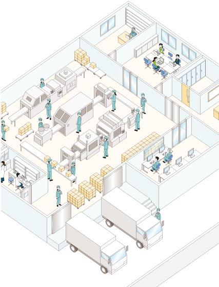 建物俯瞰図 \u2013 Ikuo Okada Illustrations